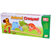 Animal Croquet Game