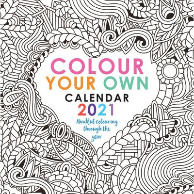 2021 Calendar: Colour your Own image number 1