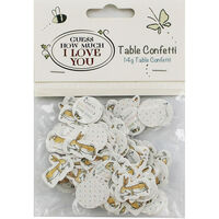 Guess How Much I Love You Table Confetti