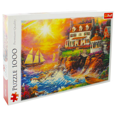 Peaceful Haven 1000 Piece Jigsaw Puzzle image number 1