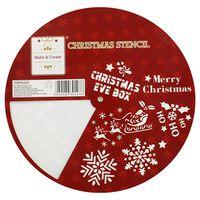 Christmas Stencil Wheel