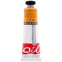 Graduate Oil Paint Deep Cadmium Yellow 38ml
