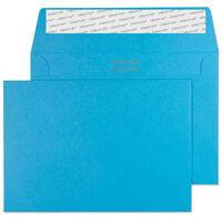 Blue C6 Wallet Self Seal Envelopes Pack Of 25