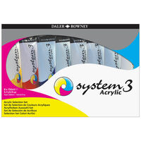 Daler-Rowney System 3 Acrylic Jumbo Selection