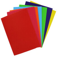 A4 Corrugated Coloured Card: Pack of 10