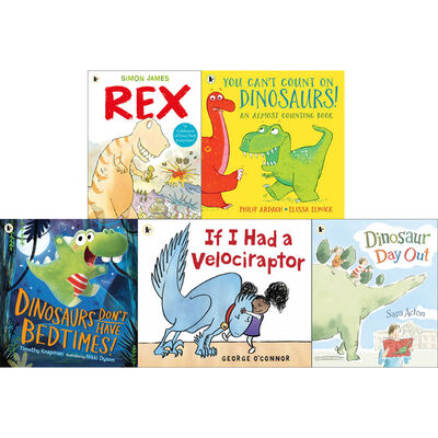 Dinosaurs Galore: 10 Kids Picture Books Bundle image number 3