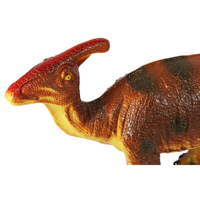 26 Inch Parasaurolophus Soft Dinosaur Figure image number 3