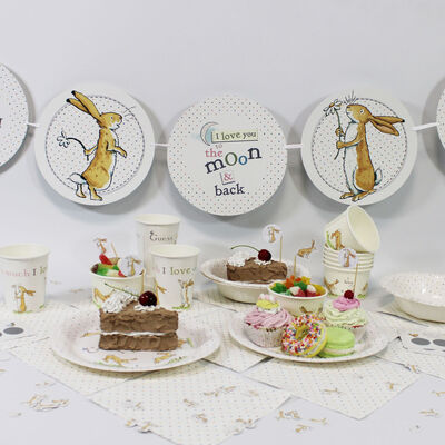Guess How Much I Love You Party Paper Plates - Pack of 8 image number 4