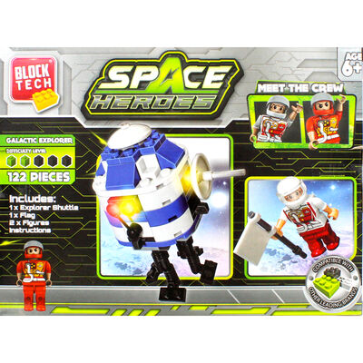 Block Tech Space Heroes Set image number 4