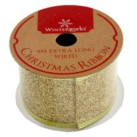 Assorted Red and Gold Christmas Ribbon - 4m