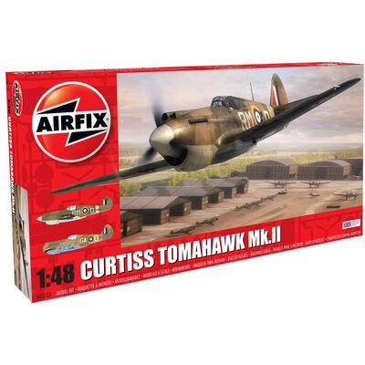 Airfix 1/48 Curtiss Tomahawk Mk-II Model Kit image number 1