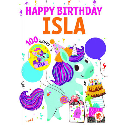 Happy Birthday Isla image number 1