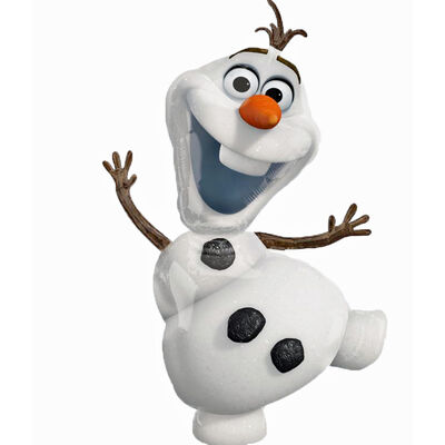 23 Inch Disney Frozen Olaf Super Shape Helium Balloon image number 2