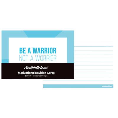 Motivational Revision Cards - 50 Pack image number 3