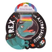 Dinosaur Sketchpad: Rex The Astrosaurus!