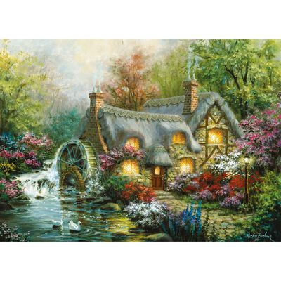 Country Retreat 500 Piece Jigsaw Puzzle image number 2