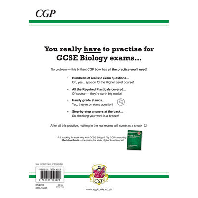 CGP GCSE Biology Grade 9-1: Exam Practice Workbook image number 3