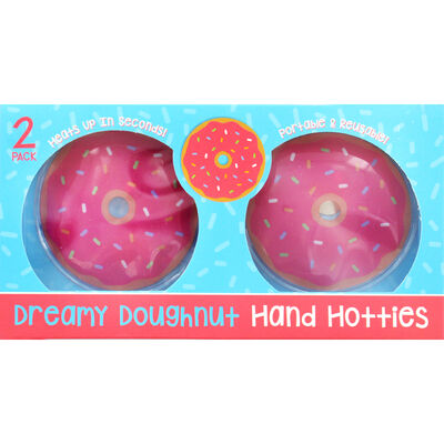 Dreamy Doughnut Hand Hotties - 2 Pack image number 1