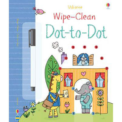 Wipe-Clean: Dot-to-Dot image number 1