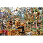 Chaos in the Gallery 1000 Piece Jigsaw Puzzle image number 2