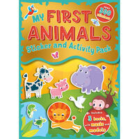 My First Animals: Sticker and Activity Pack