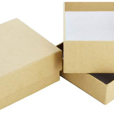 Square Craft Boxes - Set Of 2 image number 2