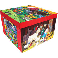 Bible Stories Collapsible Storage Box