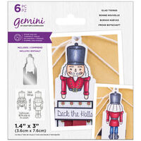 Gemini Stamp & Die Set: Glad Tidings