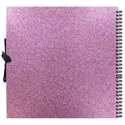 Purple Glitter Scrapbook - 12x12 Inch image number 3
