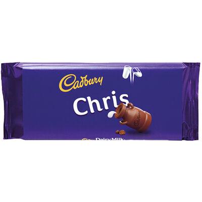 Cadbury Dairy Milk Chocolate Bar 110g - Chris image number 1