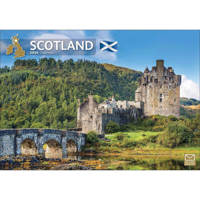 Scotland 2020 A4 Wall Calendar image number 1