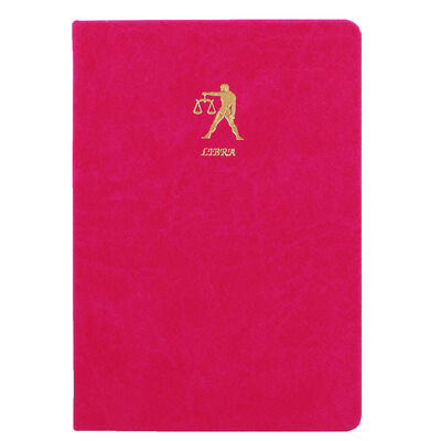 A5 Case Bound PU Zodiac Libra Lined Journal image number 1