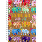 A5 Elephants Day a Page 2020-21 Academic Diary image number 1