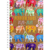 A5 Elephants Day a Page 2020-21 Academic Diary