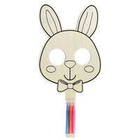 Colour Your Own Bunny Mask