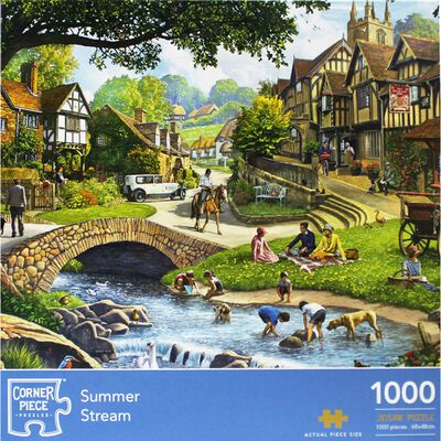 Summer Stream 1000 Piece Jigsaw Puzzle image number 1