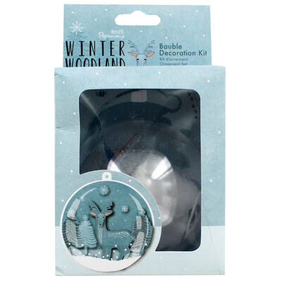 Bauble Decoration Kit - Winter Woodland image number 2