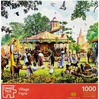 Village Fayre 1000 Piece Jigsaw Puzzle