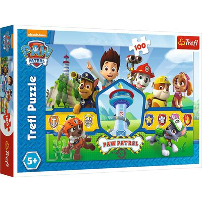 Paw Patrol Heroes 100 Piece Jigsaw Puzzle image number 1