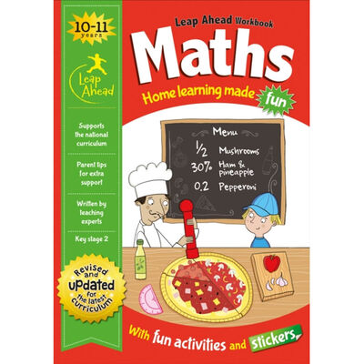 Leap Ahead Workbook: Maths 10-11 Years image number 1