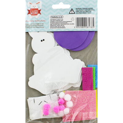Make Your Own Foam Bunnies - Makes 3 image number 3