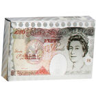 Metallic 50 Pound Note Style Playing Cards - Assorted image number 1