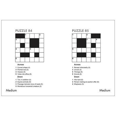 One Minute Crosswords Book 1: 200 Quickfire Crosswords image number 2
