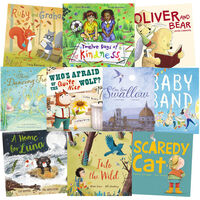 Three Dancing Frogs & Friends: 10 Kids Picture Books Bundle