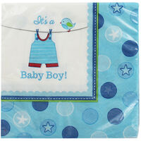 Its a Boy Baby Shower Napkins - Pack of 16