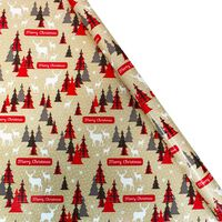 Assorted Christmas Gift Wrap: 5m