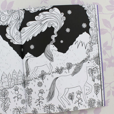 The Magical Unicorn Society: Official Colouring Book image number 4