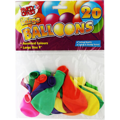 Large Balloons - Pack Of 20 image number 1