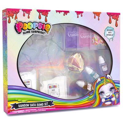 Poopsie Slime Surprise Rainbow Bath Bomb Set image number 1