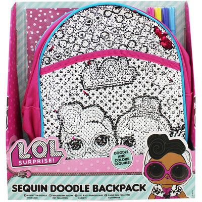LOL Surprise Sequin Backpack image number 1